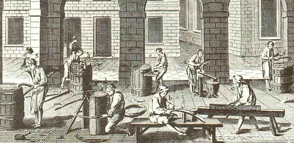 Il vino nell'Encyclopédie degli Illuministi