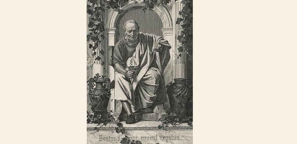 Orazio, il poeta di Bacco